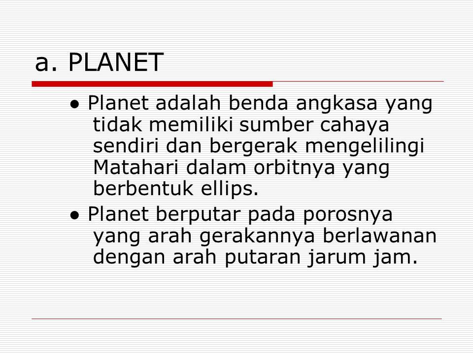 a. PLANET
