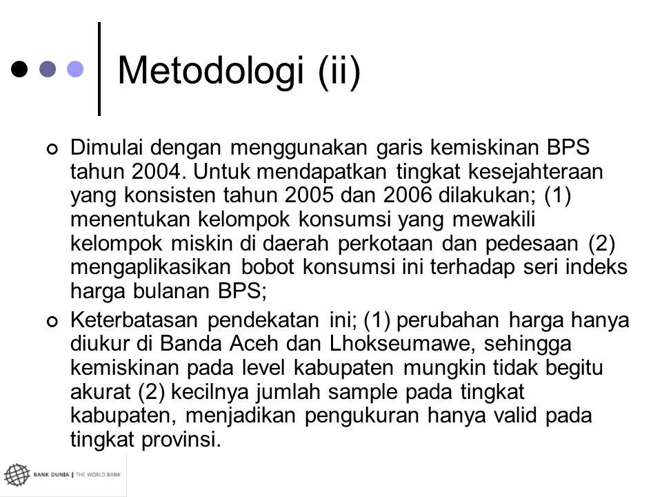 Metodologi (ii)