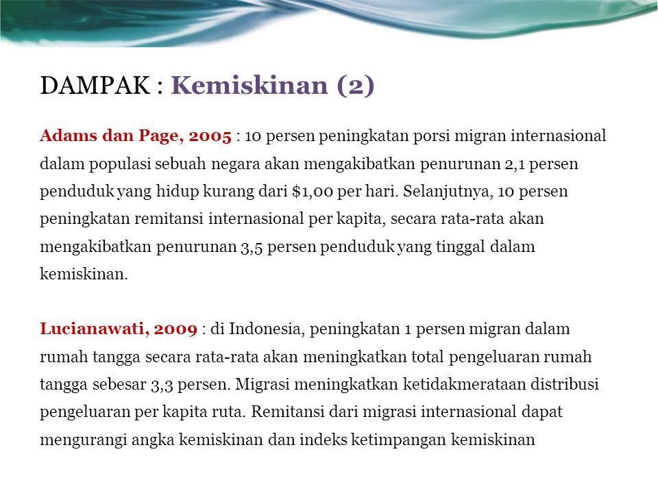 DAMPAK : Kemiskinan (2)