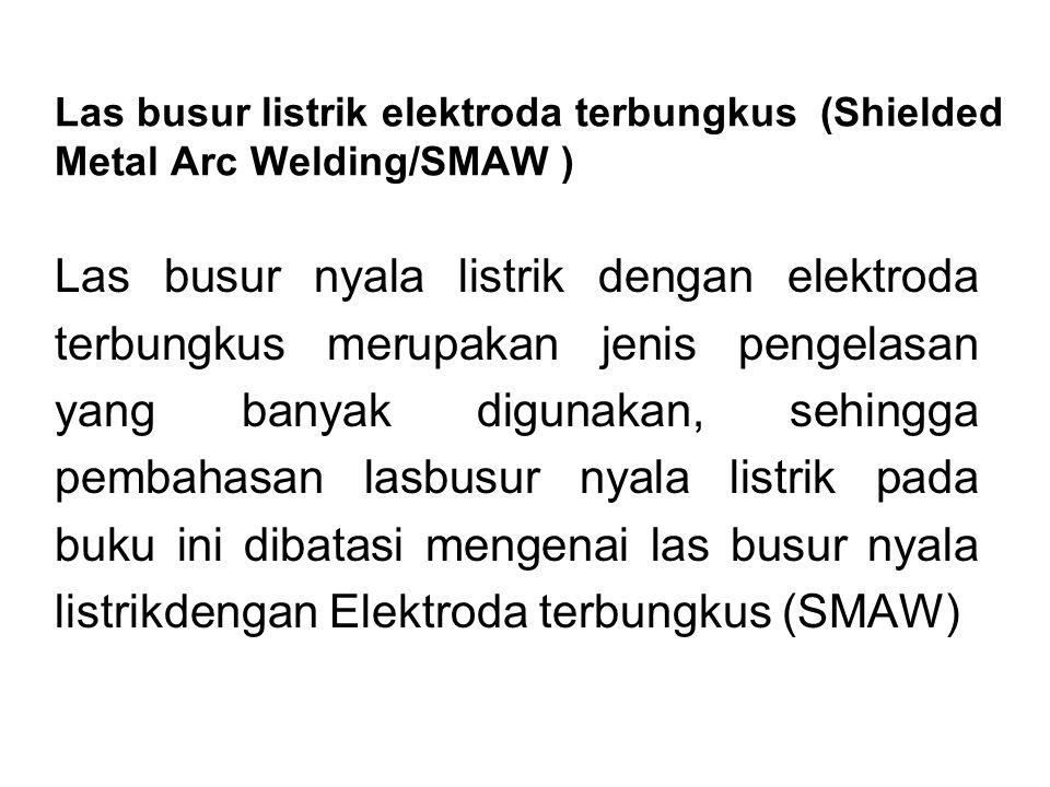 Las busur listrik elektroda terbungkus (Shielded Metal Arc Welding/SMAW )
