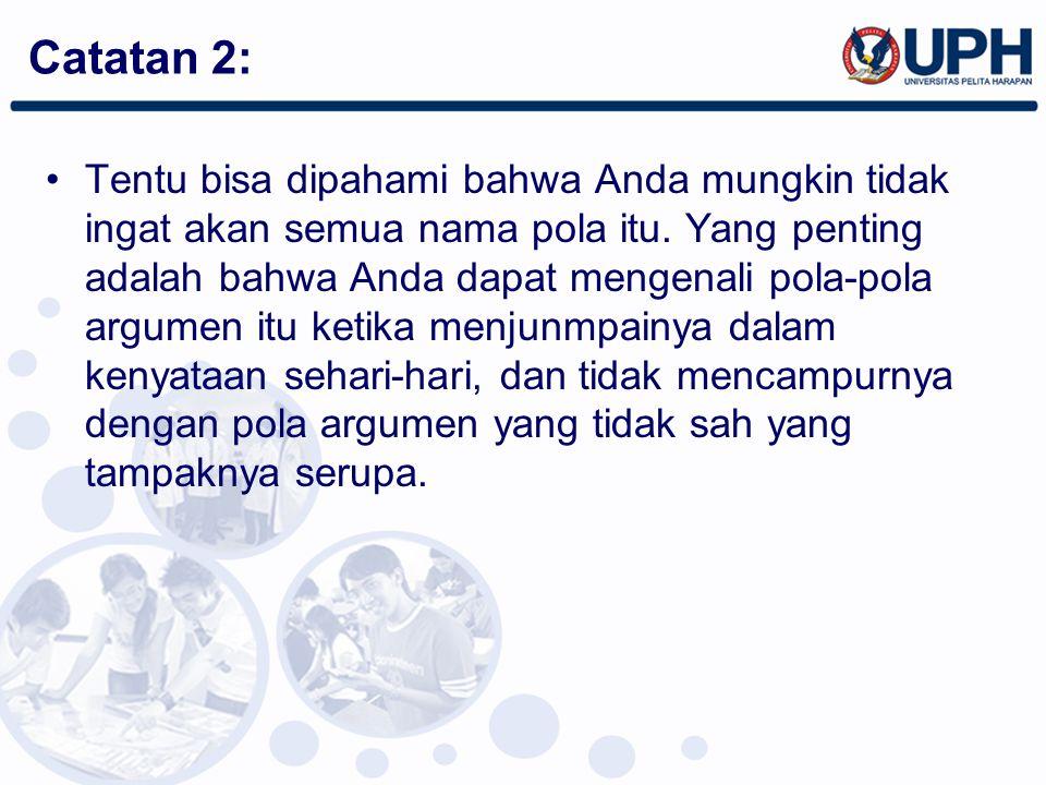 Catatan 2: