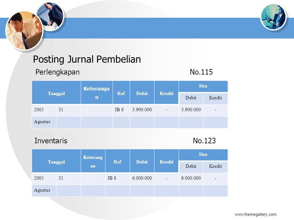 Posting Jurnal Pembelian