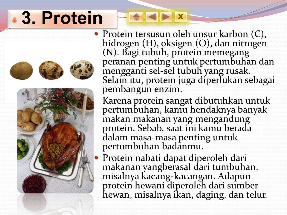 3. Protein X.