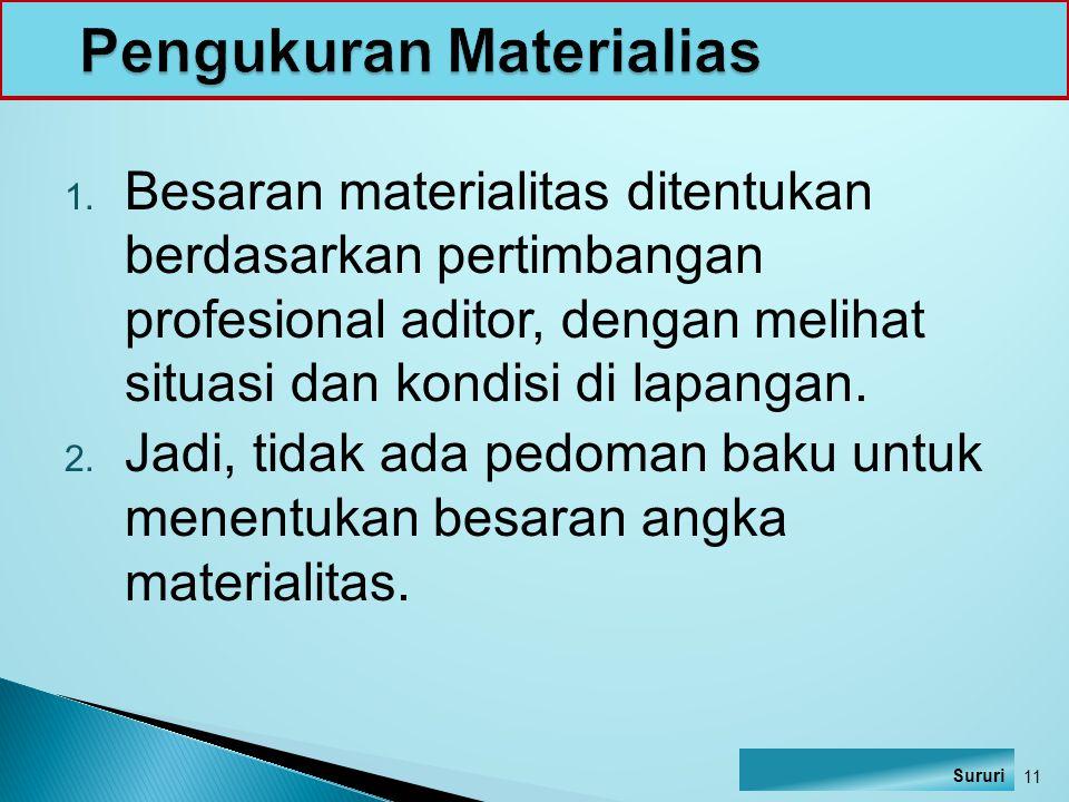 Pengukuran Materialias