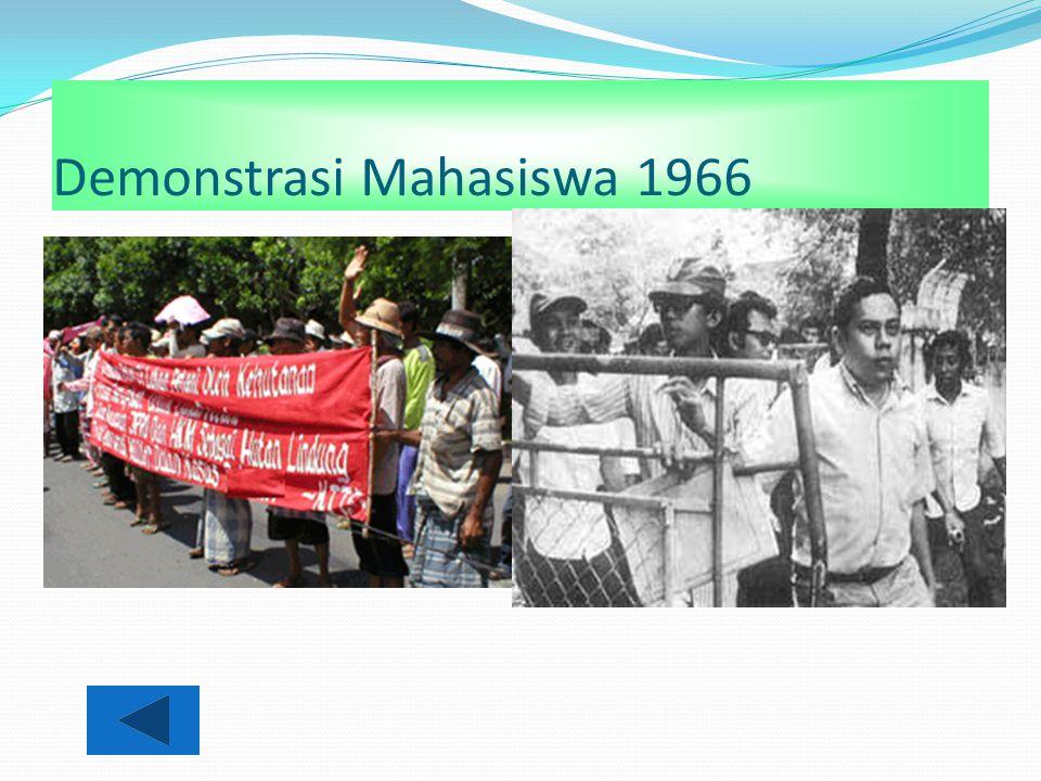 Demonstrasi Mahasiswa 1966