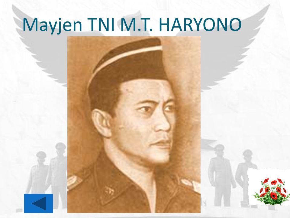 Mayjen TNI M.T. HARYONO