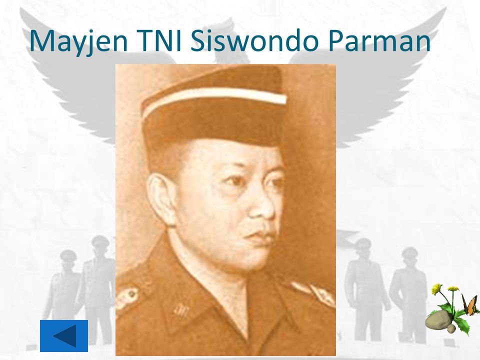 Mayjen TNI Siswondo Parman