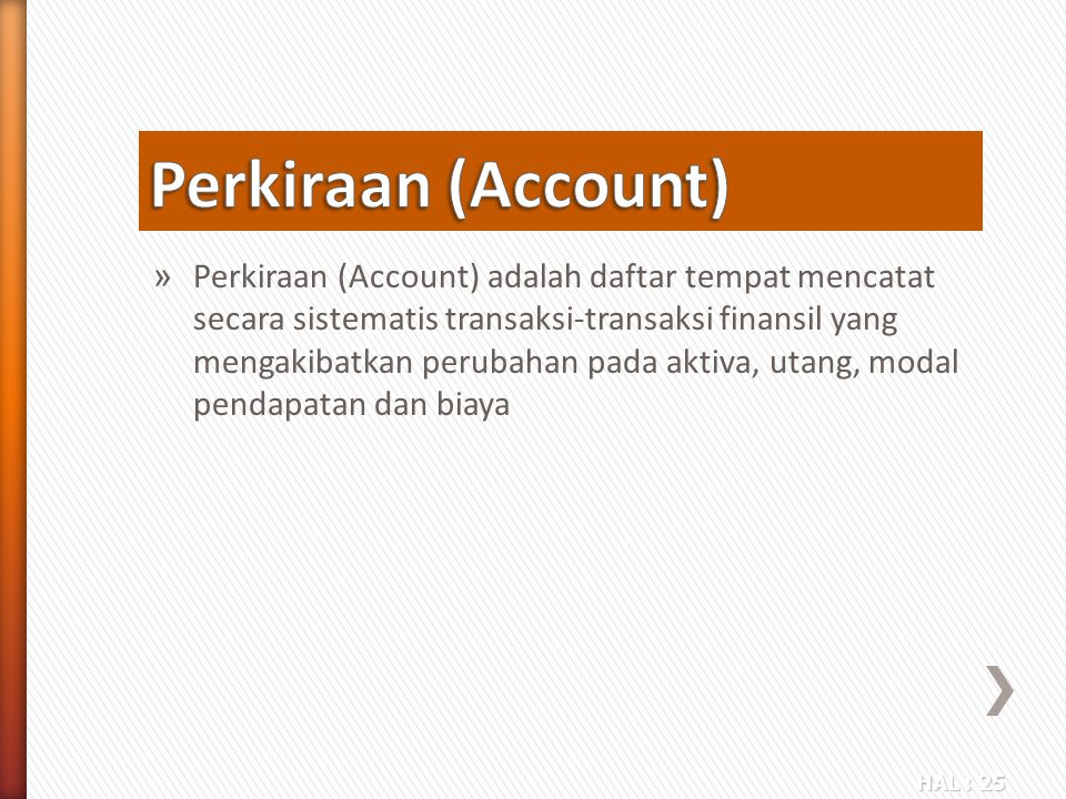 Perkiraan (Account)