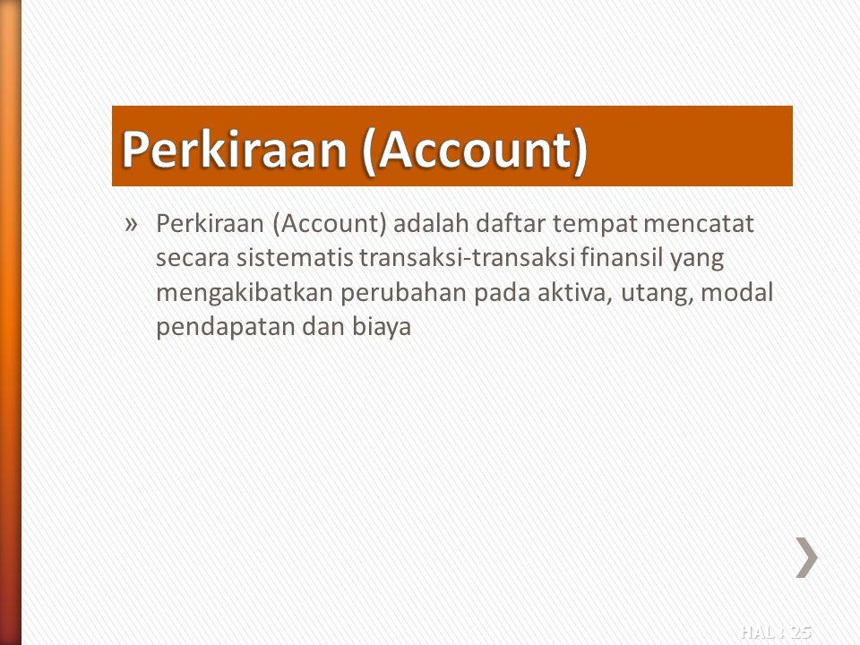 Perkiraan (Account)