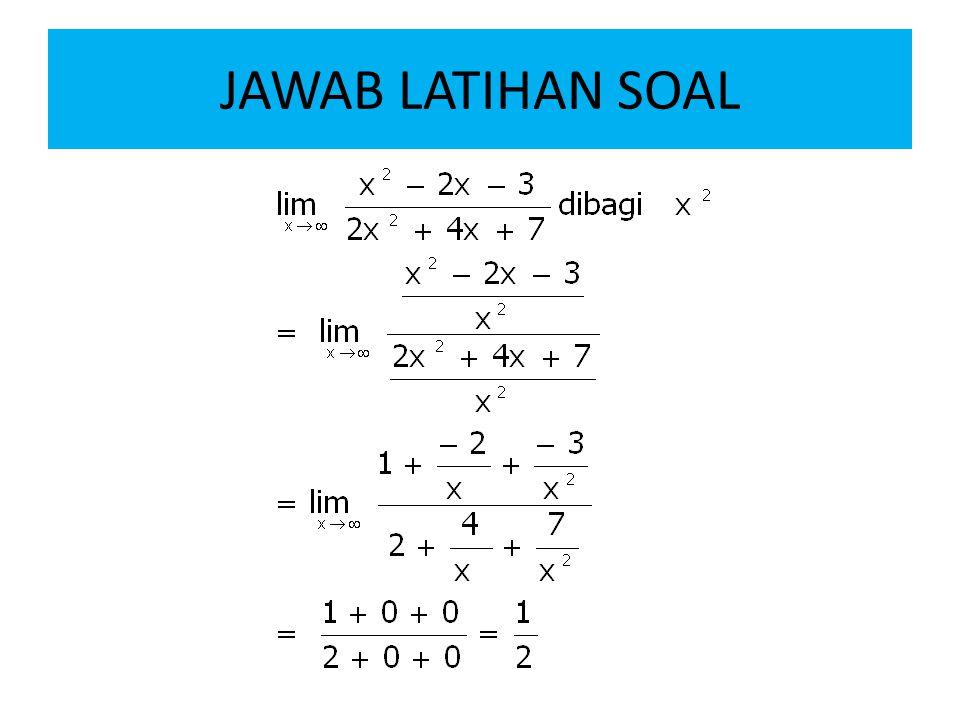 JAWAB LATIHAN SOAL