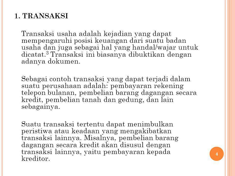 1. TRANSAKSI