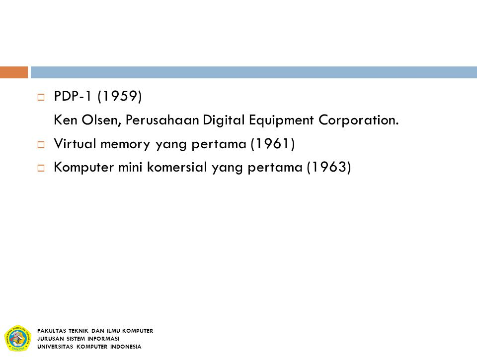 Ken Olsen, Perusahaan Digital Equipment Corporation.