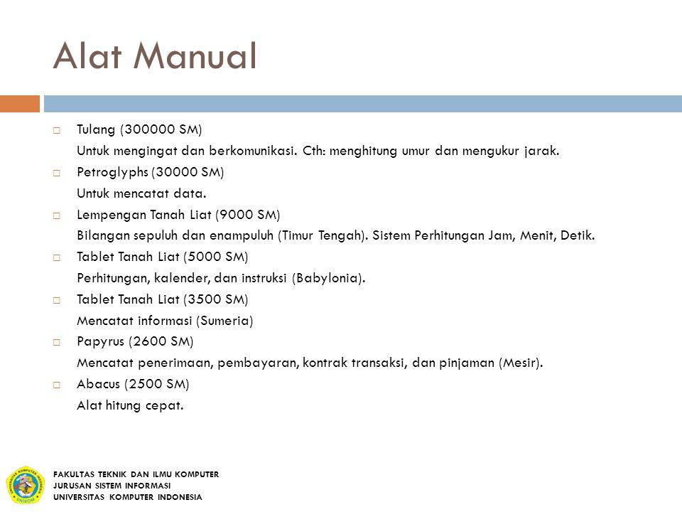 Alat Manual Tulang (300000 SM)