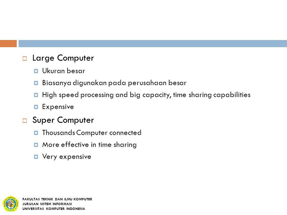 Large Computer Super Computer Ukuran besar