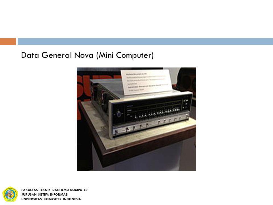 Data General Nova (Mini Computer)