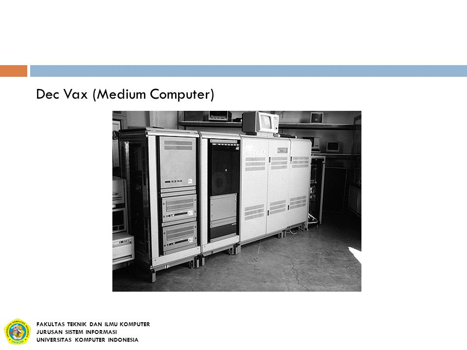 Dec Vax (Medium Computer)
