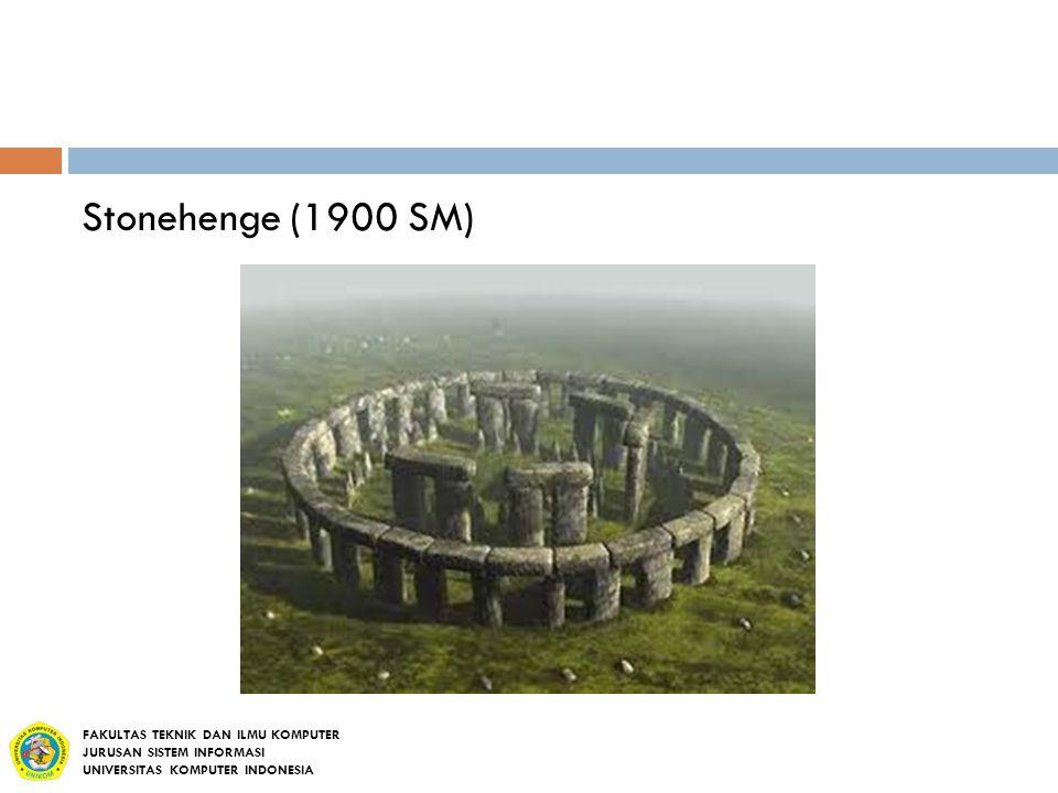 Stonehenge (1900 SM) FAKULTAS TEKNIK DAN ILMU KOMPUTER