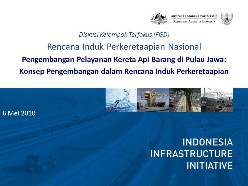 Sasaran Rencana Induk Perkeretaapian Nasional