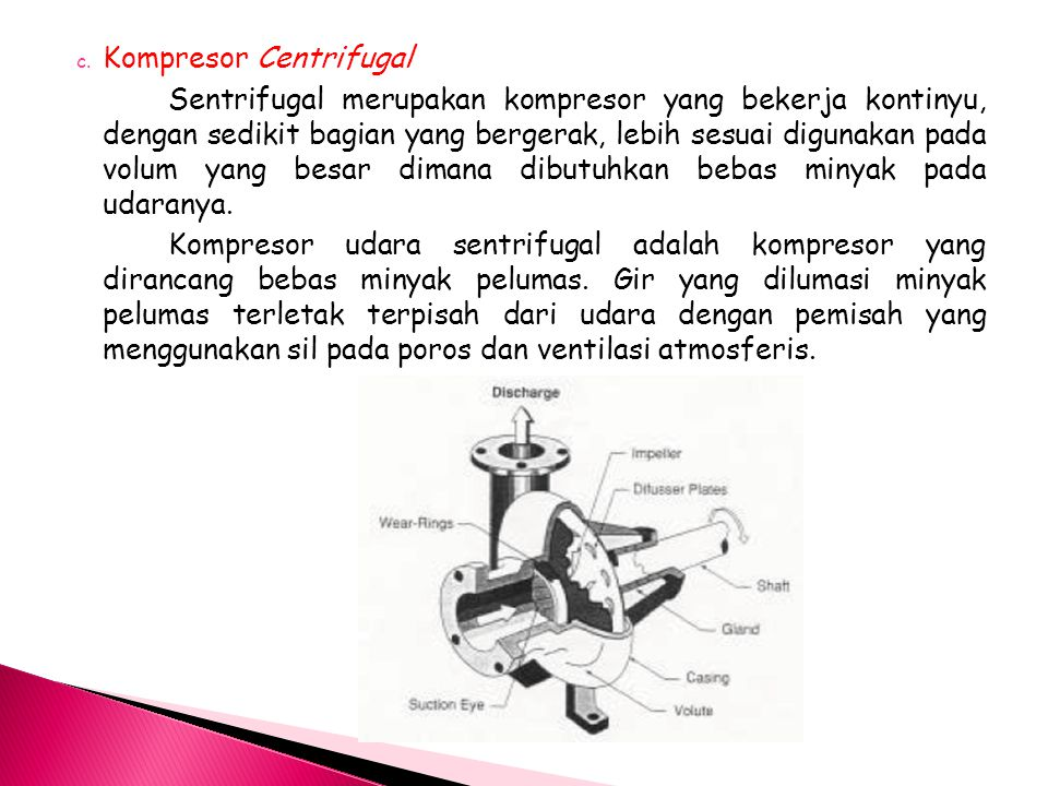 Kompresor Centrifugal