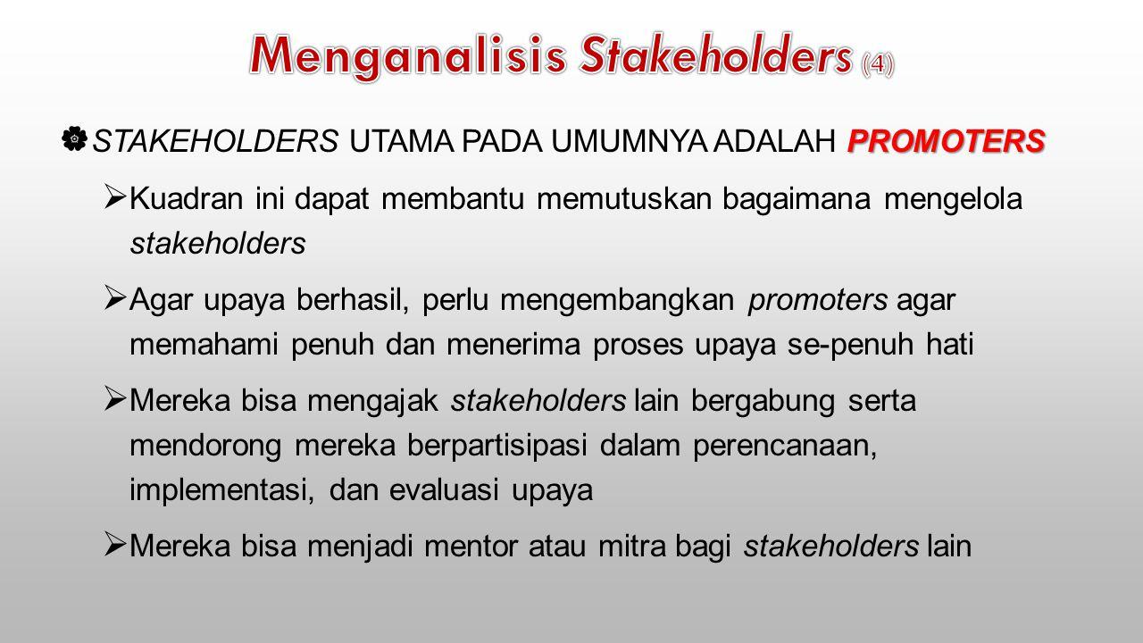 Menganalisis Stakeholders (4)