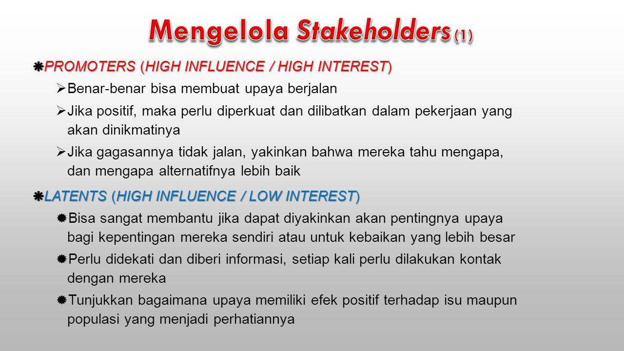 Mengelola Stakeholders (1)
