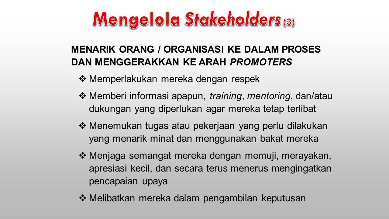 Mengelola Stakeholders (3)