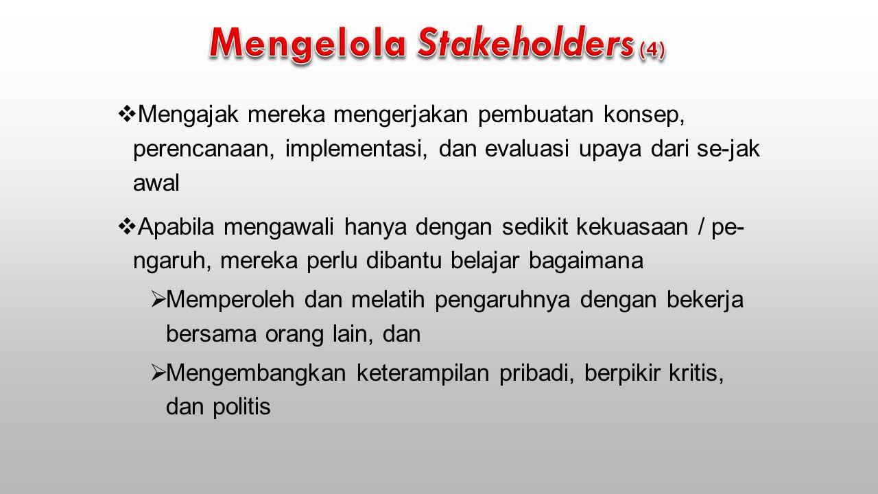 Mengelola Stakeholders (4)