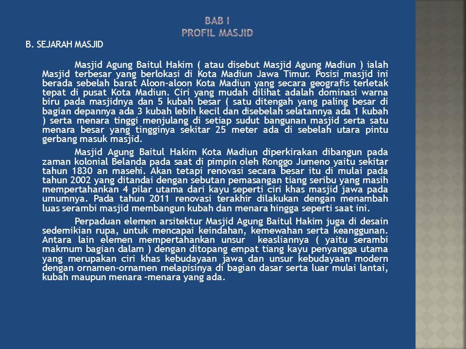 Masjid Baitul Hakim Kota Madiun