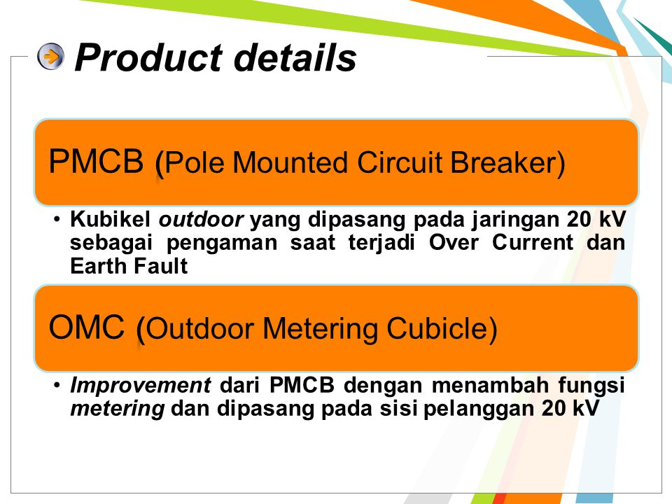 Product details PMCB (Pole Mounted Circuit Breaker)