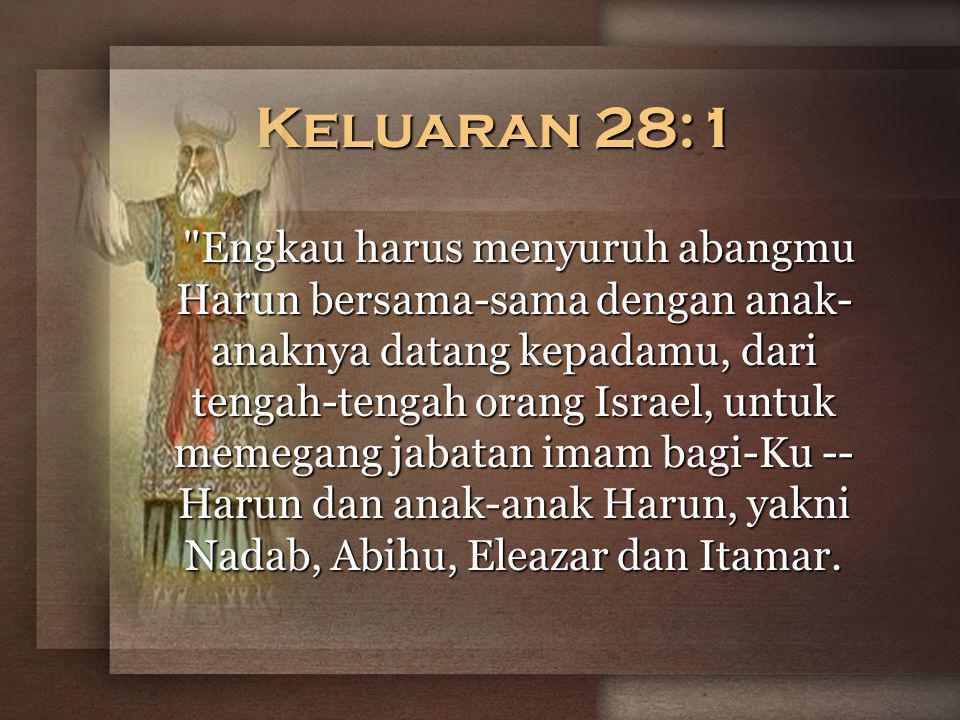 Keluaran 28:1