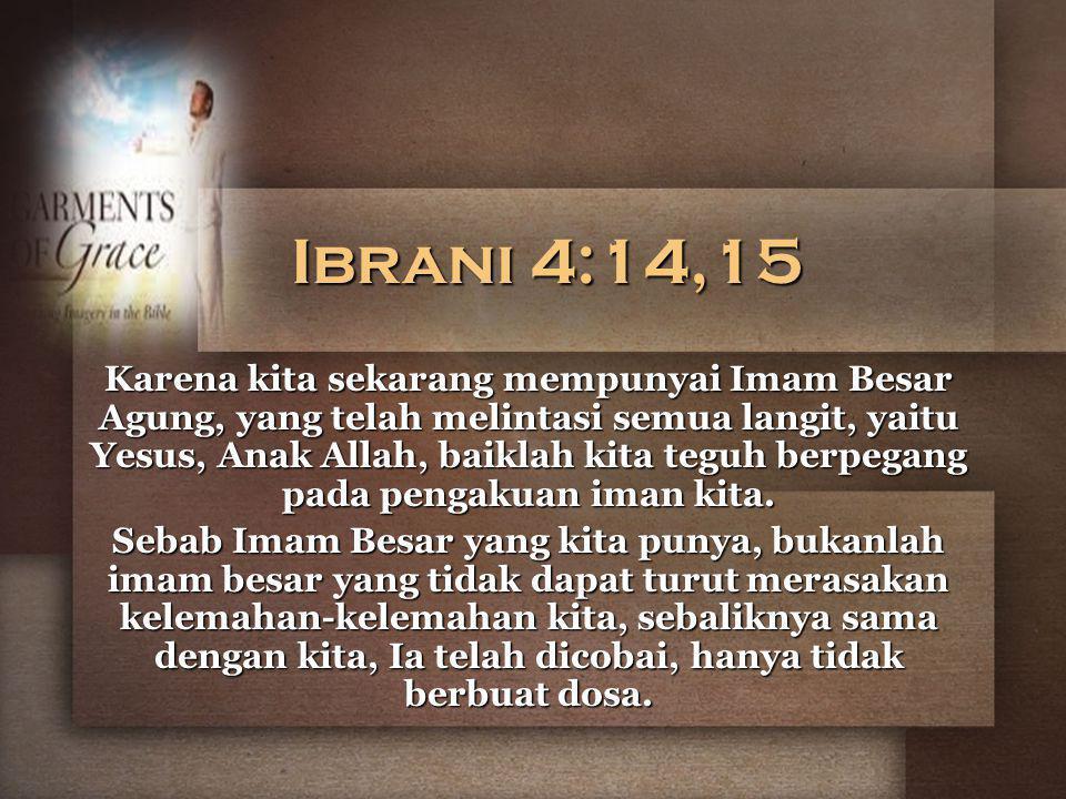 Ibrani 4:14,15