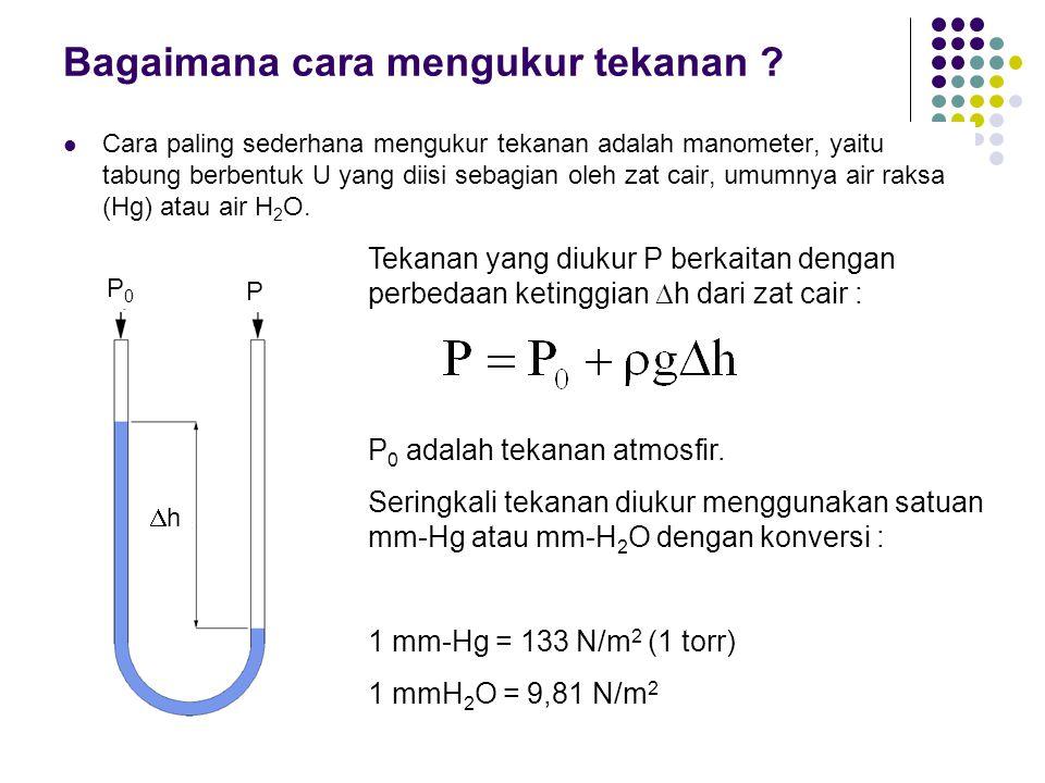 Bagaimana cara mengukur tekanan