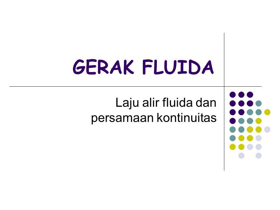 Laju alir fluida dan persamaan kontinuitas