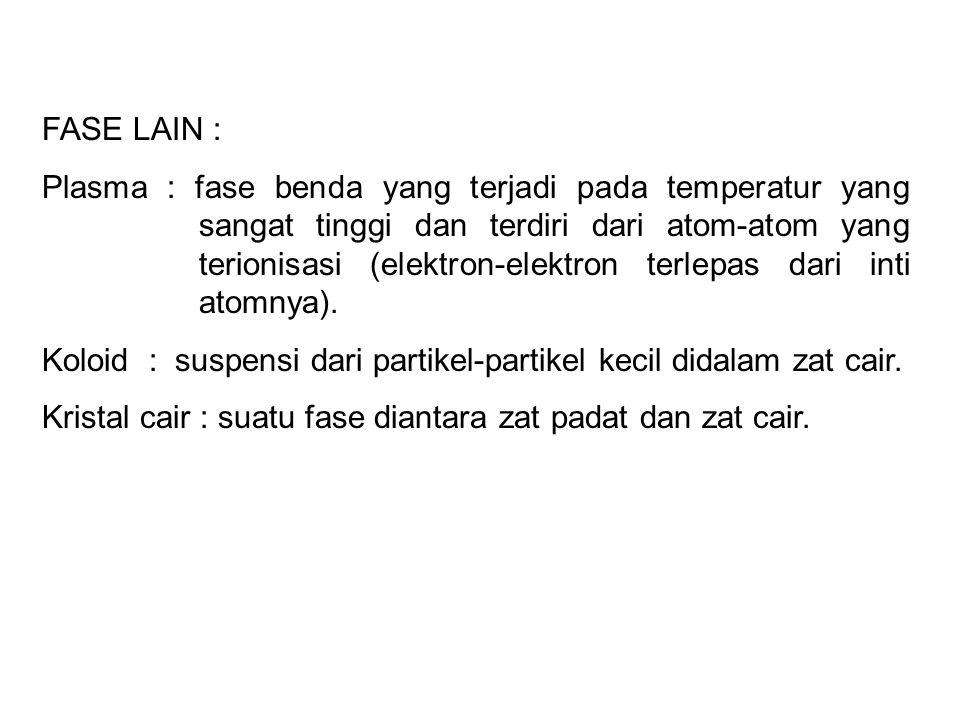 FASE LAIN :