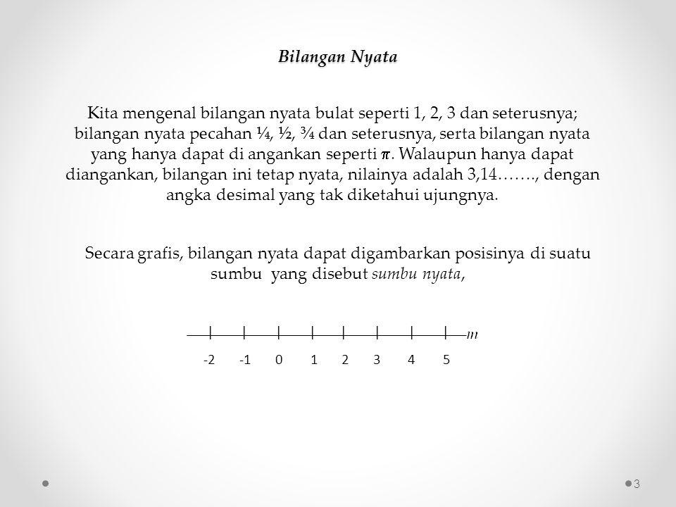Bilangan Nyata