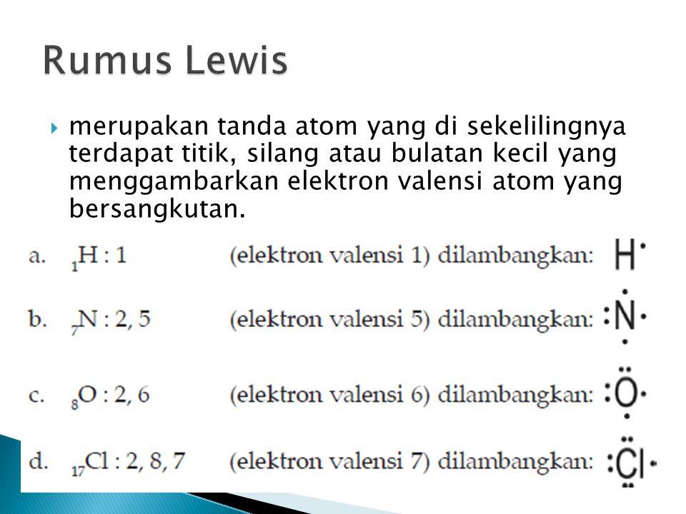 Rumus Lewis
