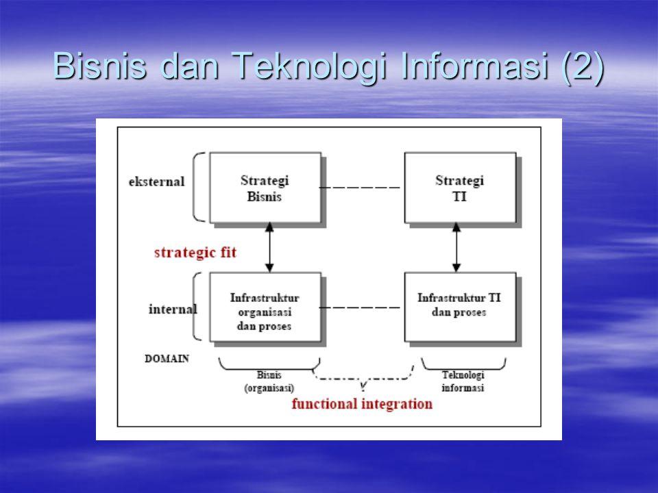 Bisnis dan Teknologi Informasi (2)