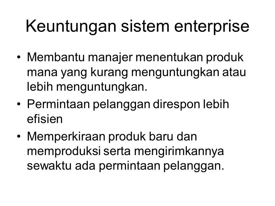 Keuntungan sistem enterprise
