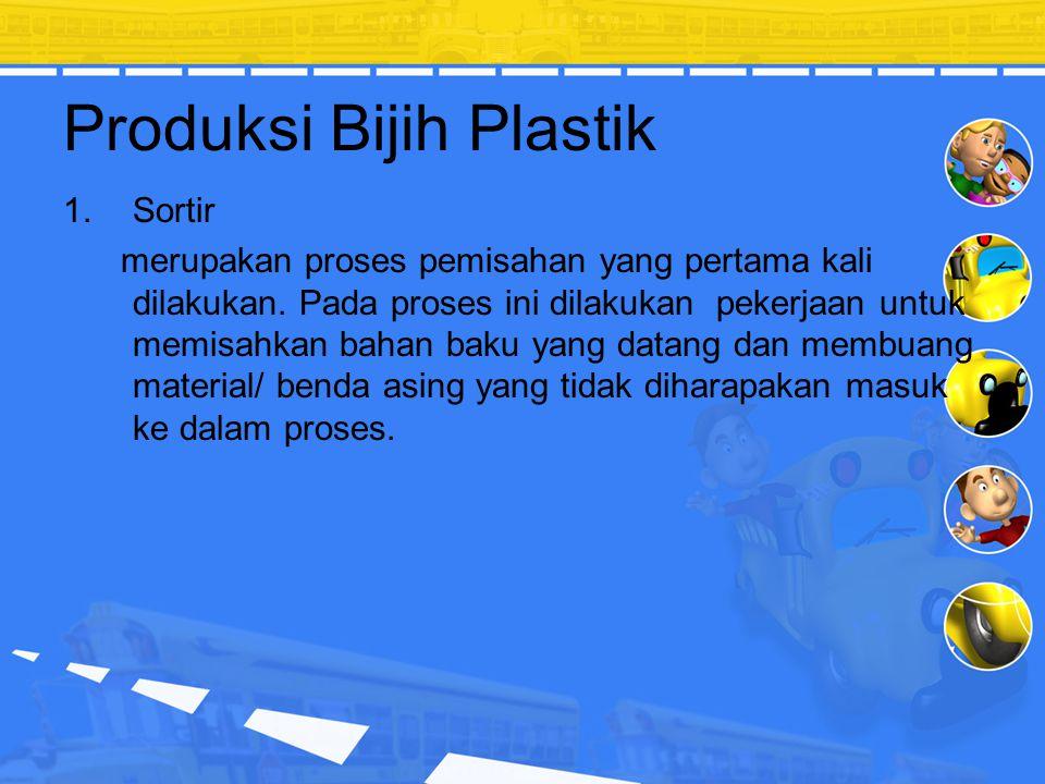 Produksi Bijih Plastik