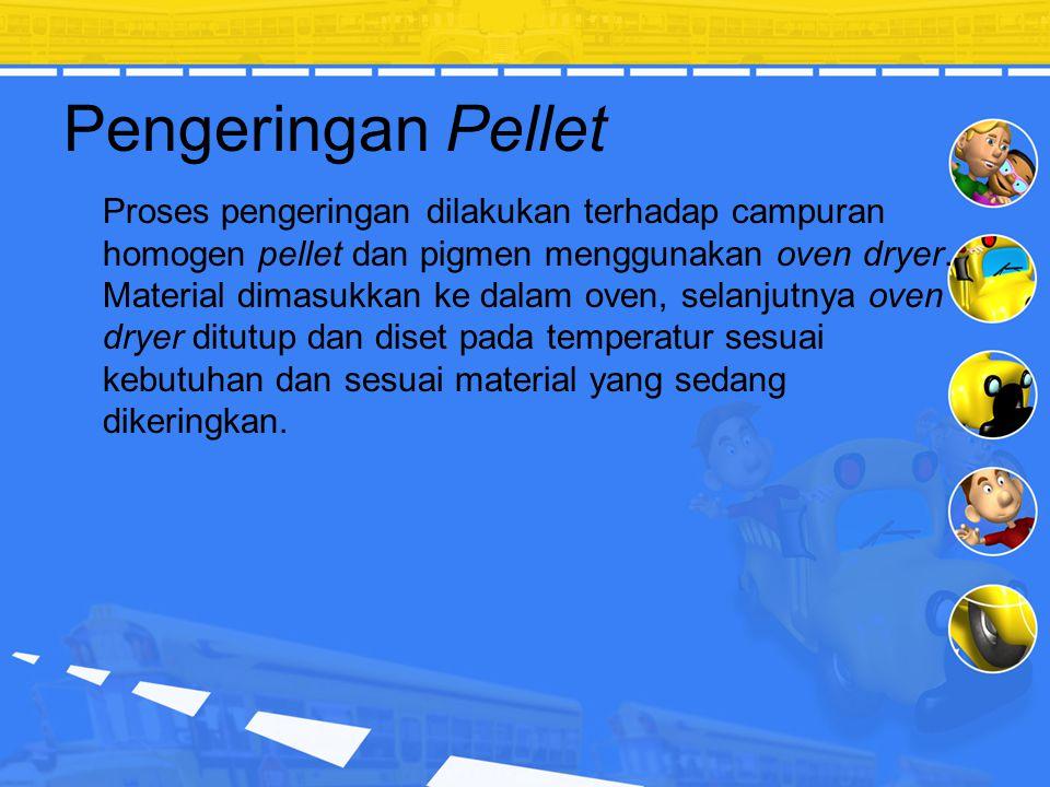 Pengeringan Pellet