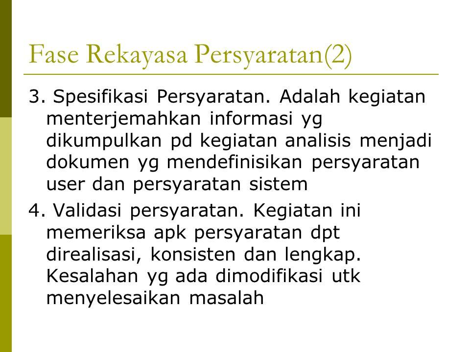Fase Rekayasa Persyaratan(2)