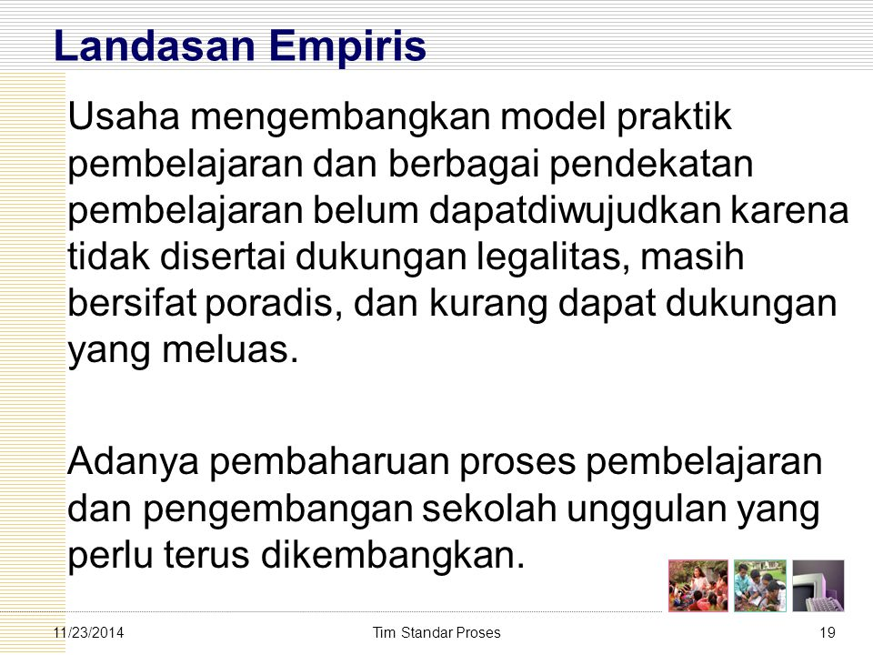 Landasan Empiris