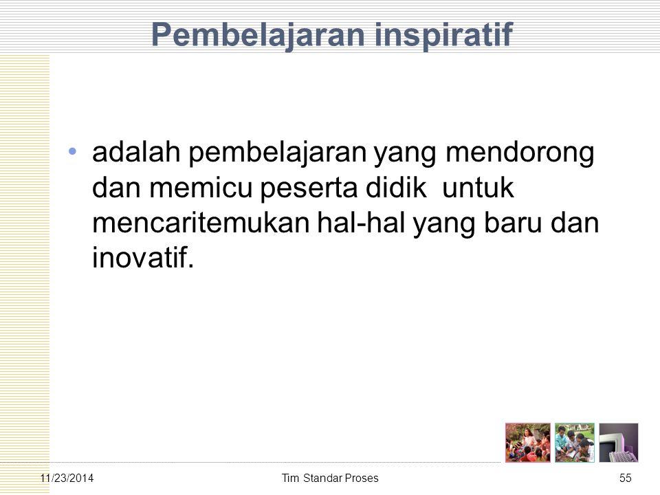 Pembelajaran inspiratif