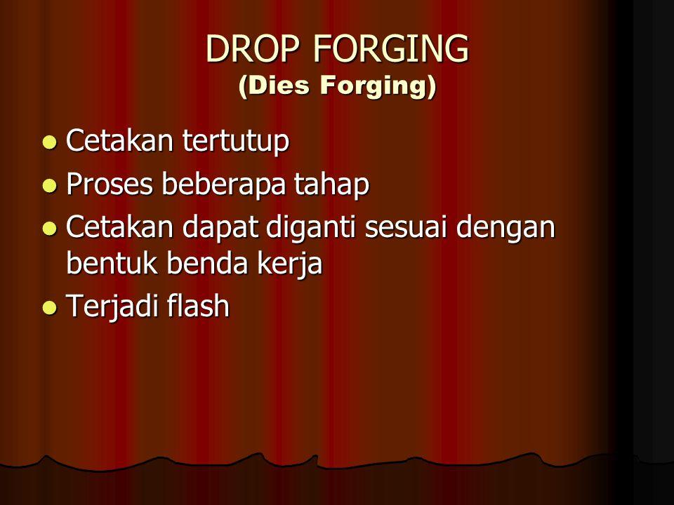 DROP FORGING (Dies Forging)