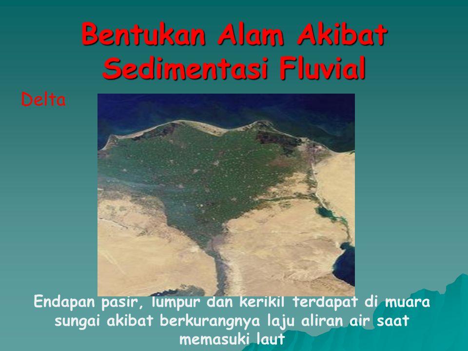 Bentukan Alam Akibat Sedimentasi Fluvial