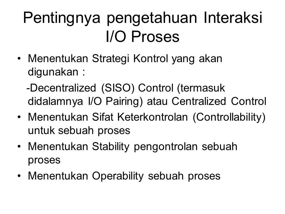 Pentingnya pengetahuan Interaksi I/O Proses