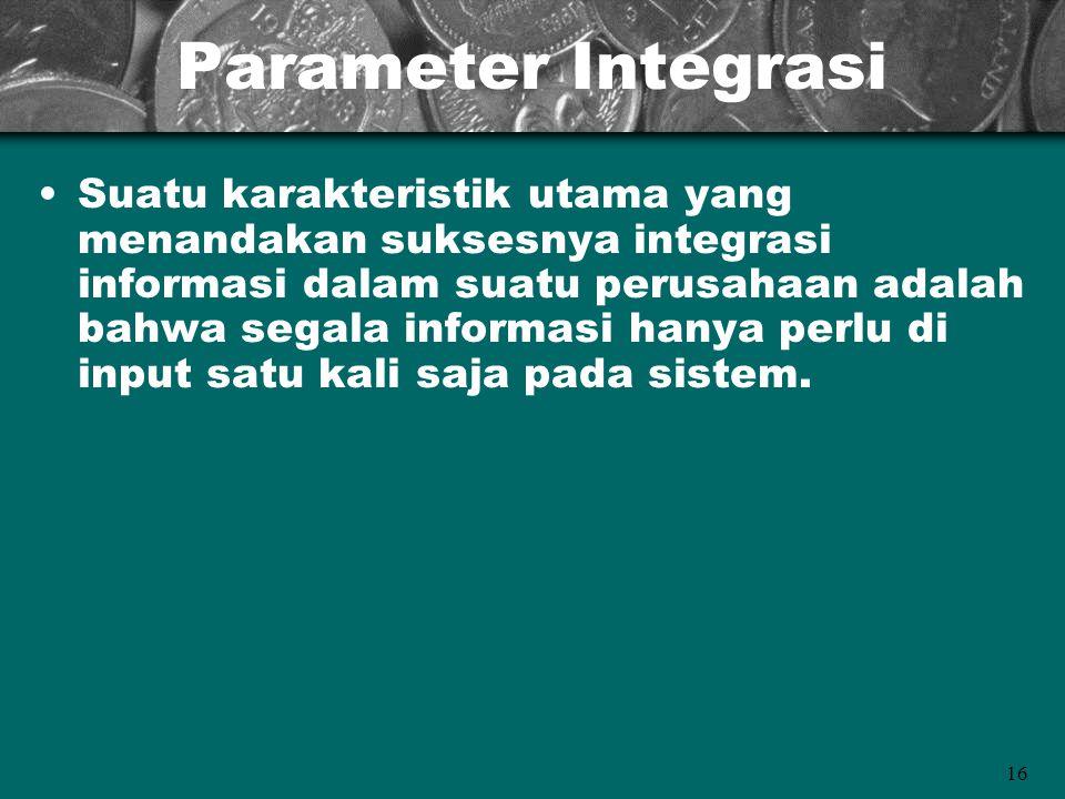 Parameter Integrasi
