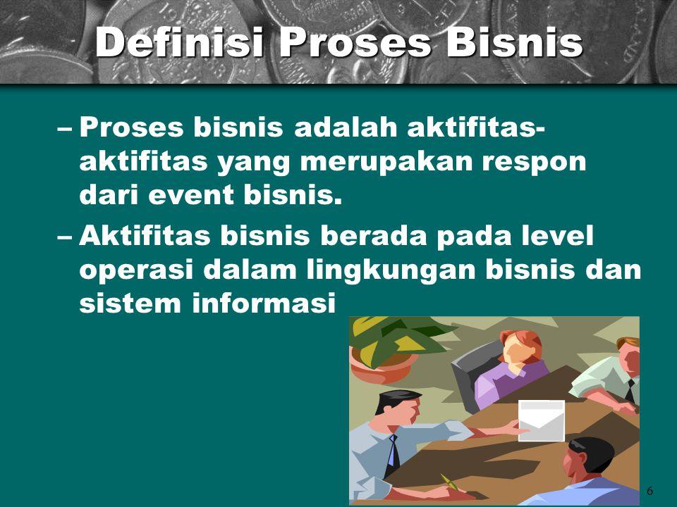 Definisi Proses Bisnis