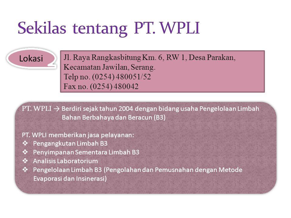 Sekilas tentang PT. WPLI
