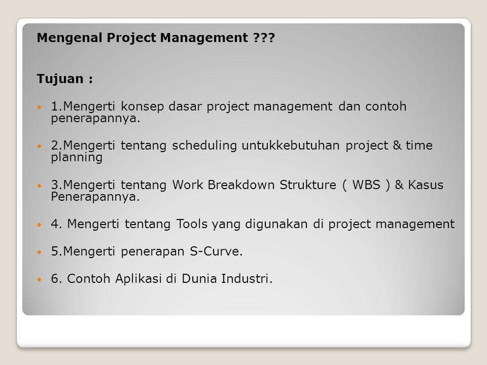 Mengenal Project Management